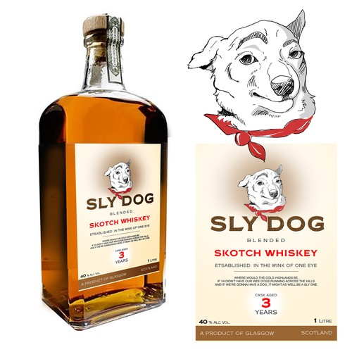 Label for Skotch Whiskey