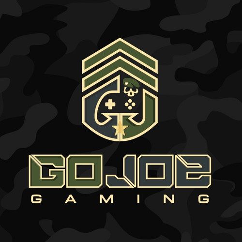 Logo for a military based design for our video gaming truck