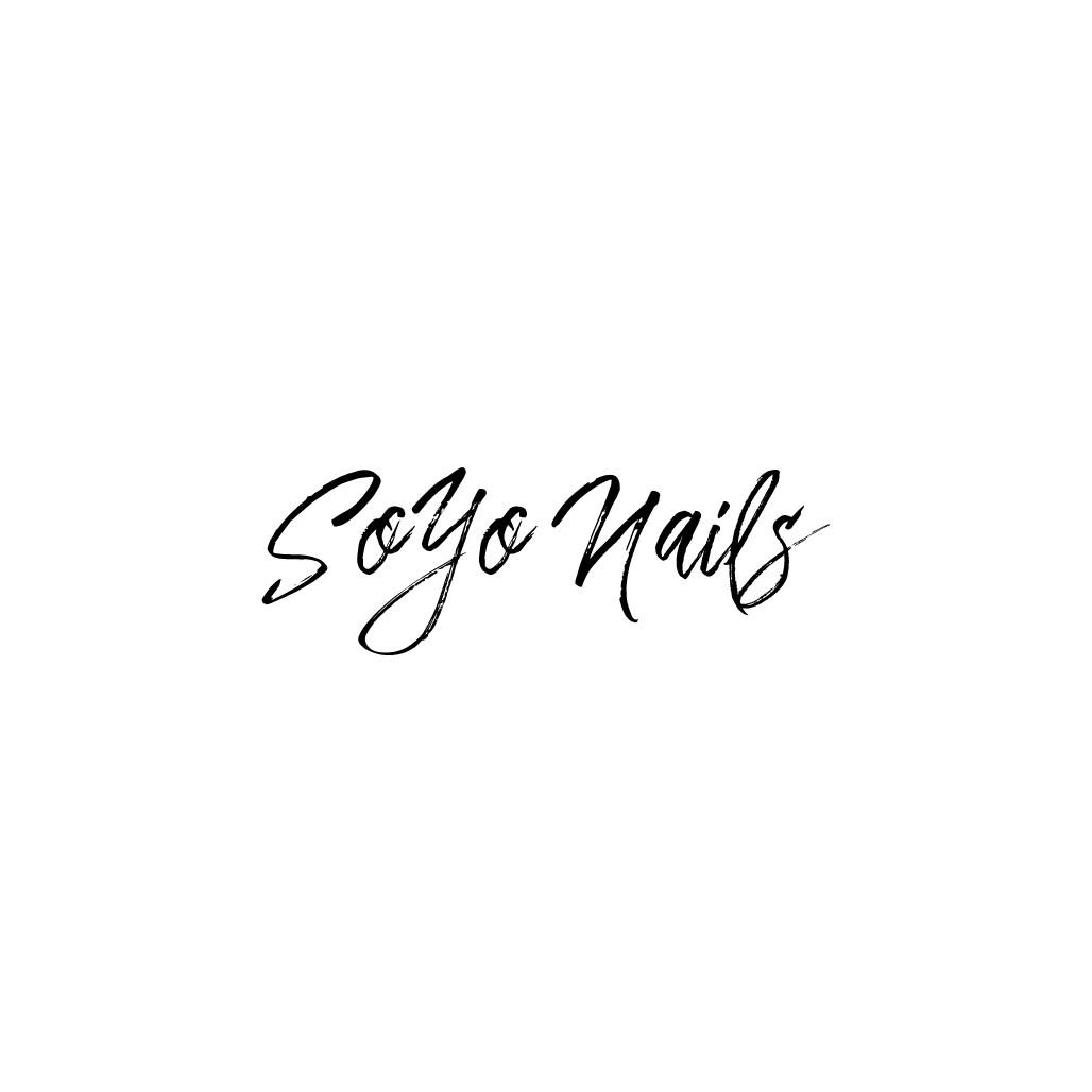 "Nail salon ""SOYO Nails"" needs a modern urban artistic logo for NY salon (neon sign)"