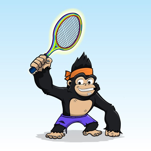 Mascot for Sporty Gorilla