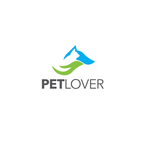Logo for a pet company