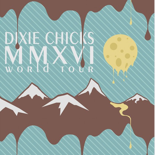 Dixie Chicks concert poster