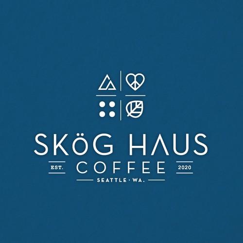 Skög Haus Coffee Logo Design
