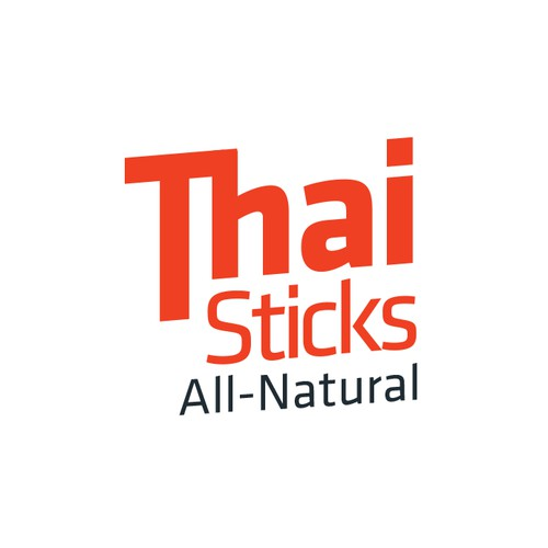 Bold logo concept for THAI Sticks