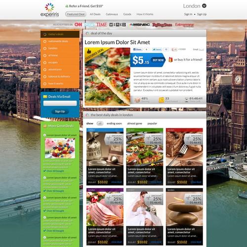 website design for experiris