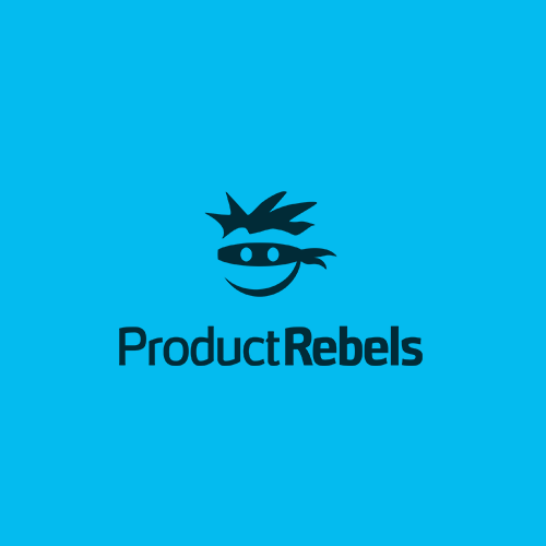 Fresh and bold logo for a product rebellion