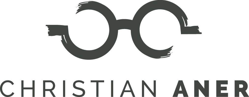 Erstelle ein modernes Logo mit einer Brille