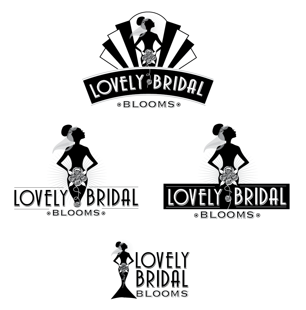Help Lovely Bridal Blooms with a new logo