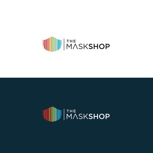 Logo concept for The maskshop