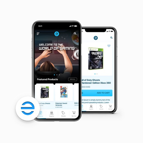 eStores iOS App Redesign