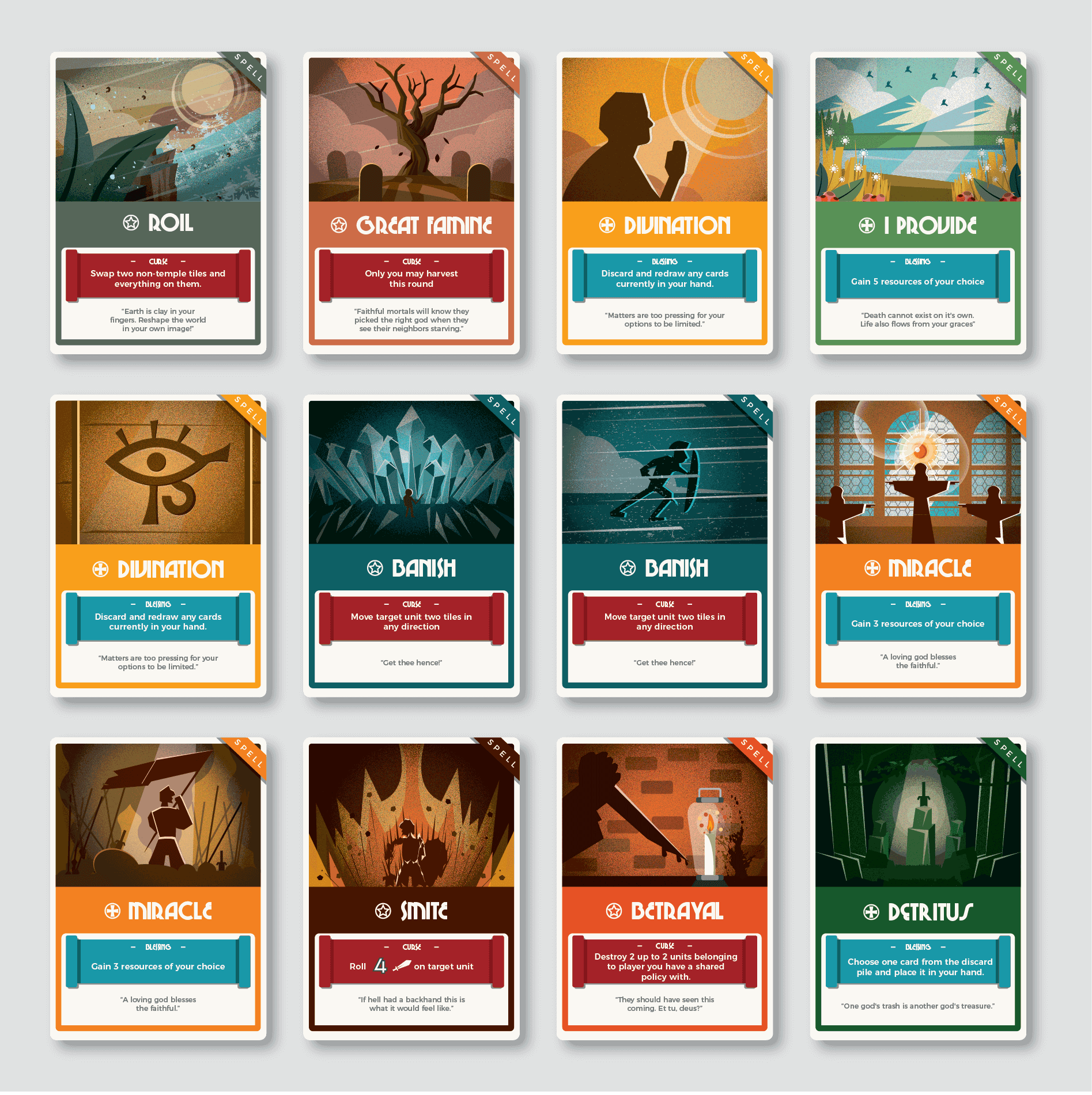 Boardgame Artworks - 18 cards