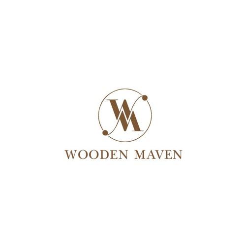 Female Woodworker Logo