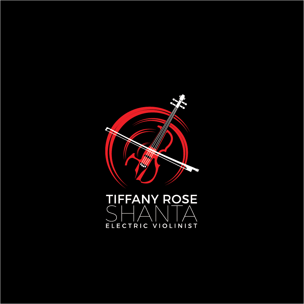 Design a beautiful logo for electric violinist Tiffany Rose Shanta
