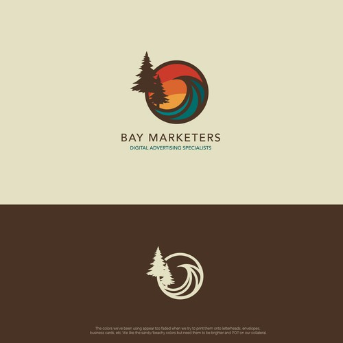 Logo for digital advertising company