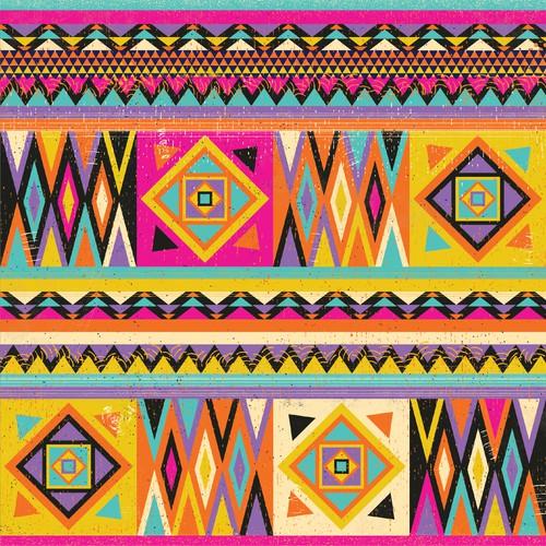 Colorful pattern, Soulful Kimono Print