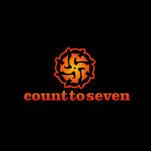 COUNT to SEVEN Logo Designs