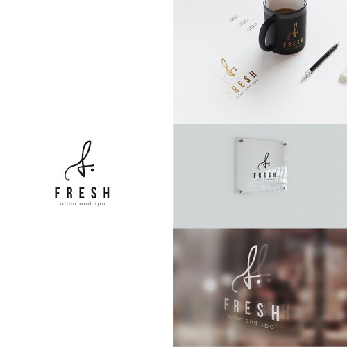 Logo concept for salon & spa
