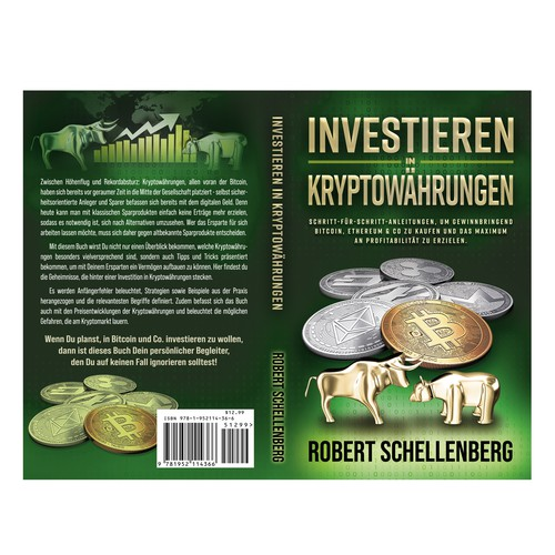 Design for book about investing in Cryptocurrency