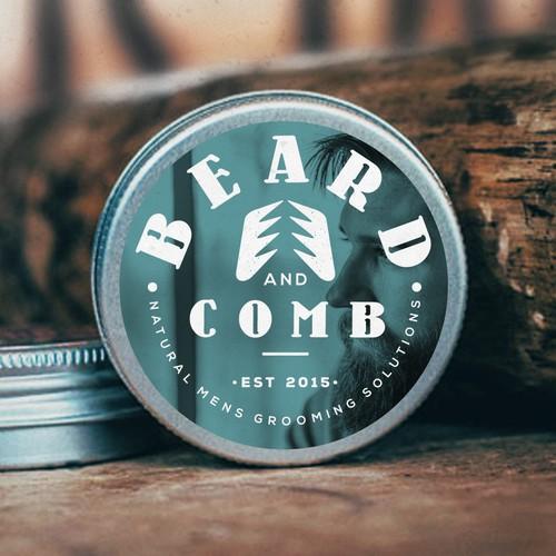 Unique logo for Beard & Comb