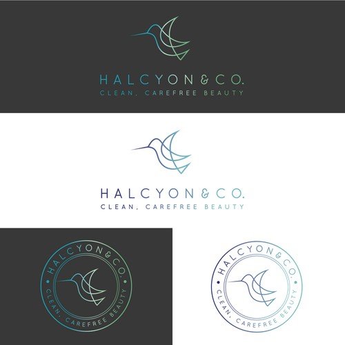 Simple Delicate Design for Halcyon & Co.