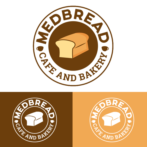 Create a Logo for MedBread, a Mediterranean Cafe & Bakery Chain