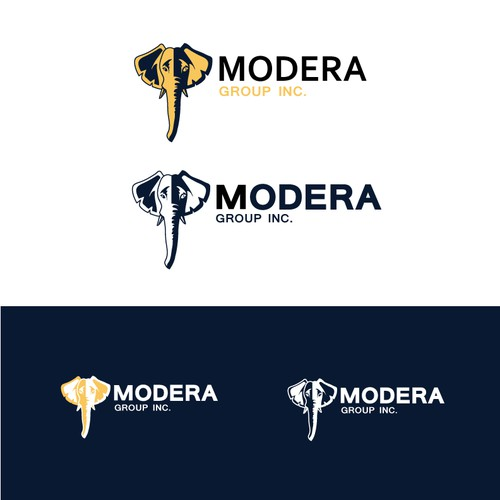 Create a memorable and improved logo for Modera Group Inc.