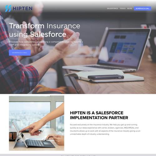 Hipten Website