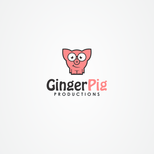 Create a playful pig based brand