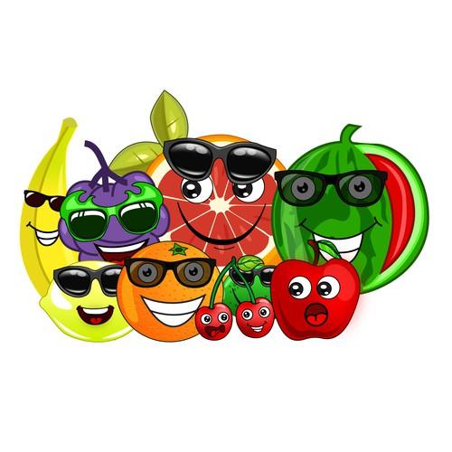 DESIGN EMOJI FRUIT CHARACTERS! WE GIVE FAST FEEDBACK