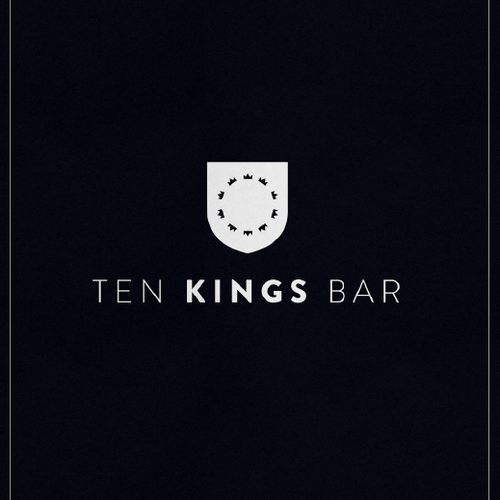 Logo for upscale bar in Jaipur India