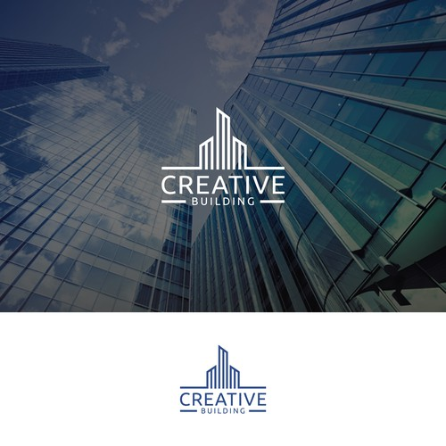 Real Estate logo for Creative Buliding