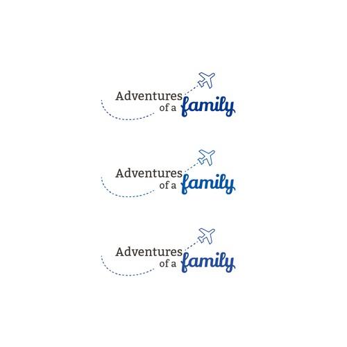 Logo design for a family blog