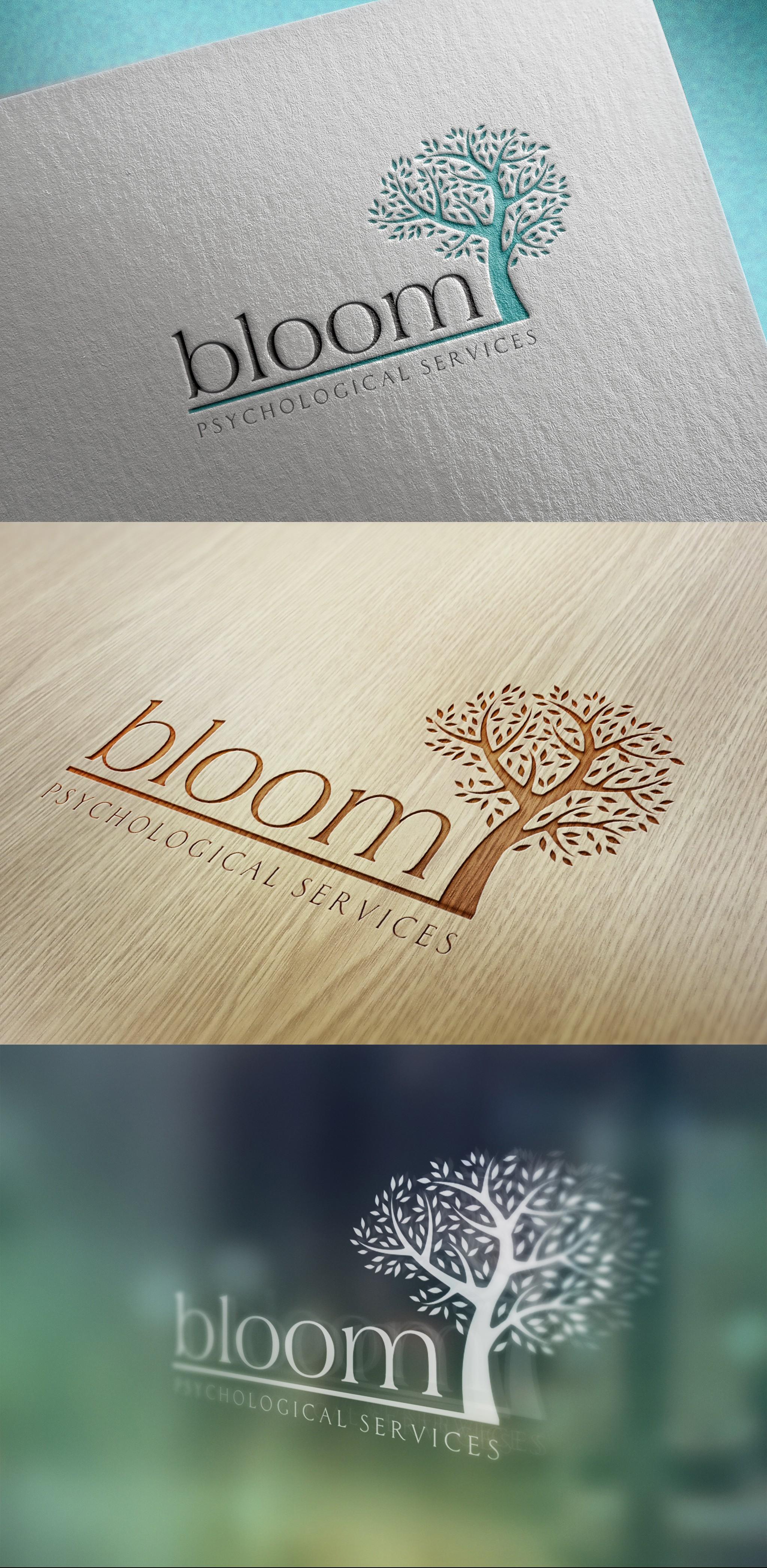 ELEGANT & EARTHY logo needed for Bloom Psychological Services