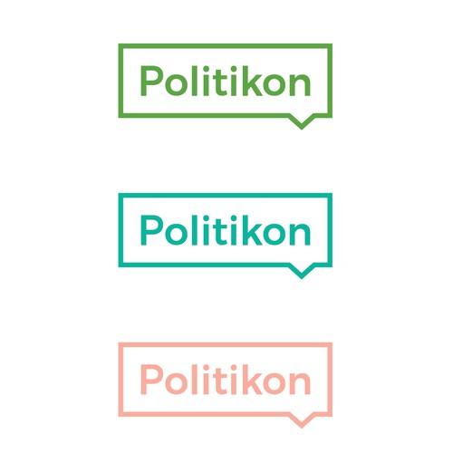 Design logo for Politikon
