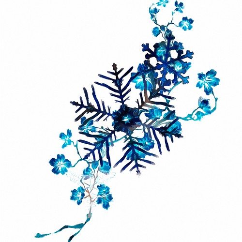 Snow flake tattoo