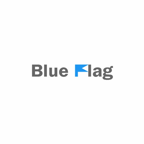 Logo concept for Blue Flag