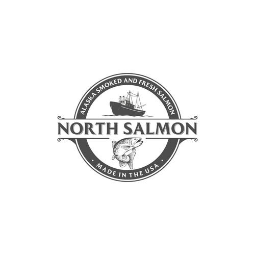 North Salmon Logo