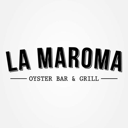 Crear un diseño de logo para un OYSTER restaurant bar