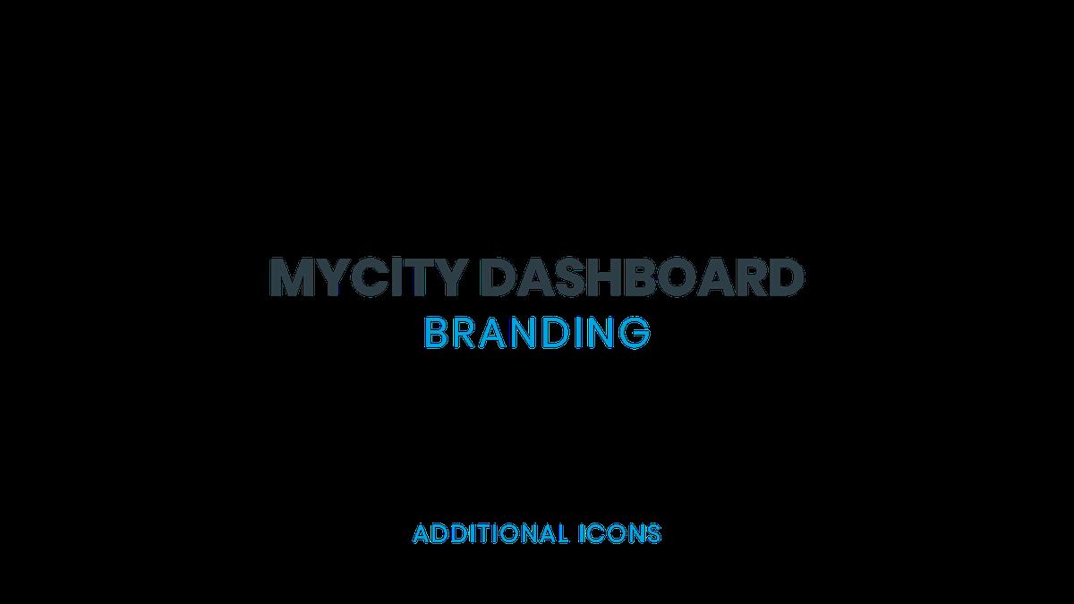 MyCity Dashboard - Additional Icons