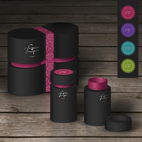 Package design for Tea gift box