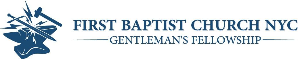 First Baptist Church Gentlemen's Fellowship graphic