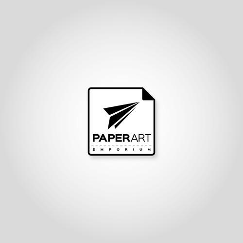 Logo for a Paper Craft Merchandise Retailer