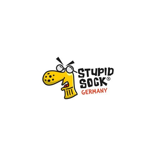 funny sock logo
