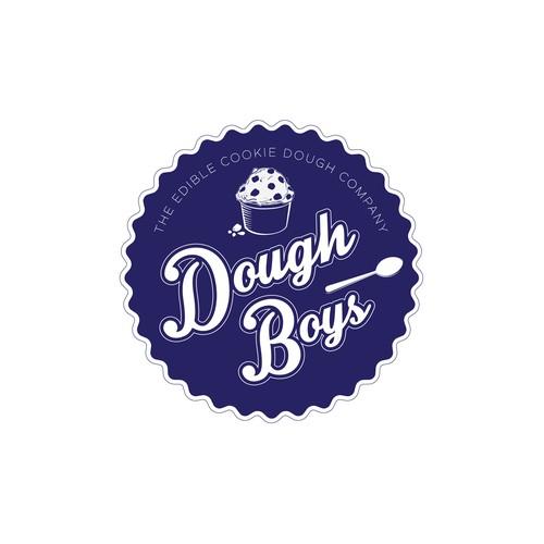 Logo for edible cookie dough company