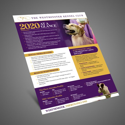The Westminster Kennel Club Flyer