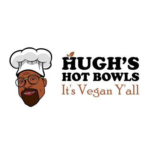 Design a timeless logo for a Black Owned vegan pop up restaurant in LA