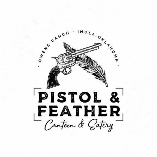Vintage Logo for Restaurant and Bar.
