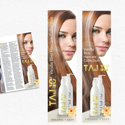 Taj 10 print ad