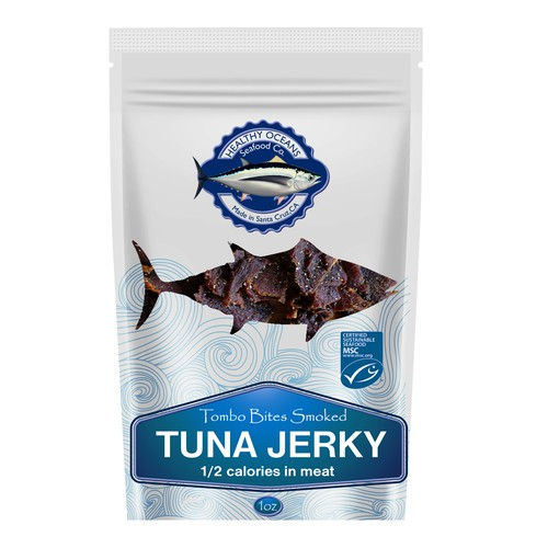 Snackable, sustainable, local seafood that competes with beef jerky