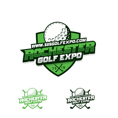 Logo for golf expo